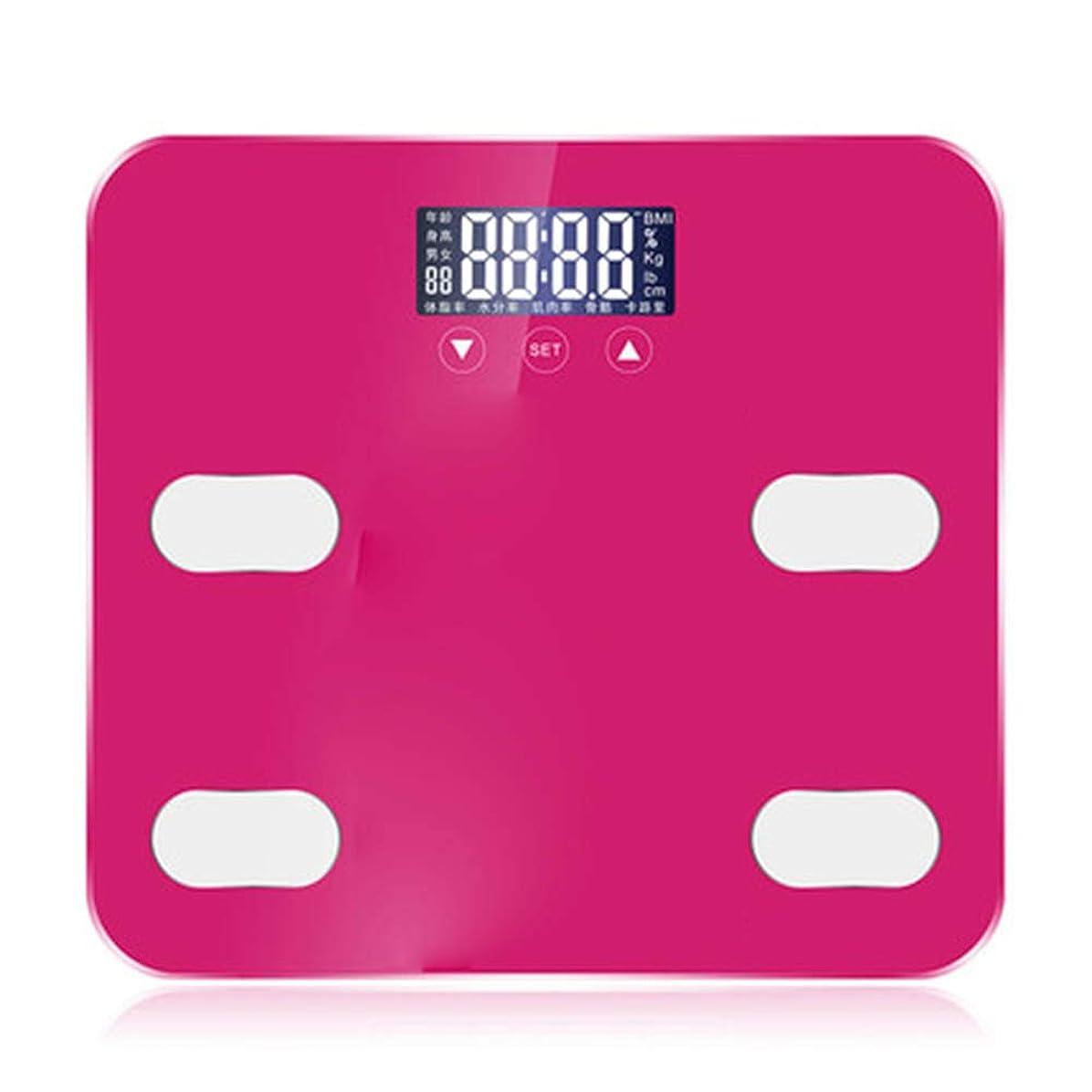 志す若さおなじみのバスルームスケール滑り止め超薄型バックライトディスプレイ高精度デジタル体重体脂肪計