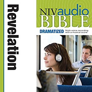 Dramatized Audio Bible - New International Version, NIV: (40) Revelation audiobook cover art