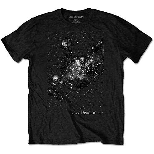 Terminal Joy Division: Plus/Minus Black (T-Shirt Unisex Tg. L) Merchandising