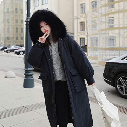 WFSDKN Donsjack 2019 nieuwe Vrouwen Donskatoenen Jas Big Size Jas Lady Hooded Jassen Vrouwelijke Dikke Winter Jas Bovenkleding