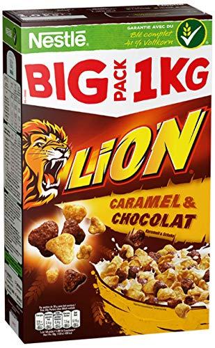 Nestlé Cerealien Lion Cereals, Karamell und Schoko mit Vollkorn (1 x 1.05 kg)
