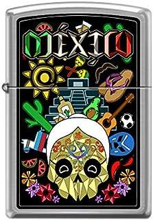 Zippo Encendedor DISEÑA TU Mexico Vida Mexicana