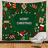 bugnaw Christmas Home Art Decorative Tapestry Mandala Tapices Tapel Colchón Hippie Bohemia Decorativa Yoga Mat Sofá Manta 29x35inch Polyester