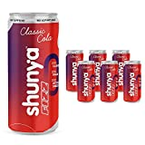 TASTE THE IMPOSSIBLE – We got rid of all the bad, but kept all the fizz and flavour. Every can of Shunya Cola gives you the unbeatable flavor of Classic Cola with unbelievable goodness. UNBELIEVABLE GOODNESS – A fizzy drink that comes loaded with goo...