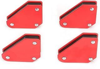 OhhGo Welding Magnetic Holder, 4pcs 9LB Angle Soldering Locator Magnetic Magnet Corner Arrows Welder Welding Holder Tool