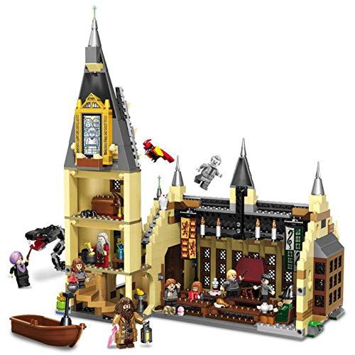 JYING Harry Potter el Gran Salón de Hogwarts, Idea de Regalo para los fanáticos del Mundo mágico, Juego de construcción para niños