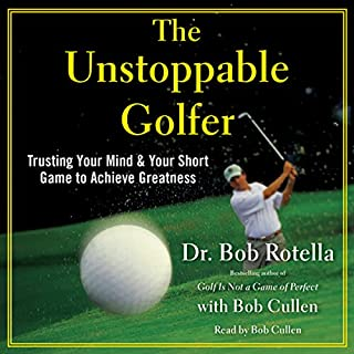 The Unstoppable Golfer audiobook cover art