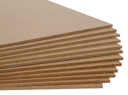 Jack Richeson Medium Density Untempered Hardboard(12 pack) , 9x12
