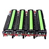 SSBY Unidad de Tambor Compatible Adecuado para la Impresora Ricoh Aficio MP C2030 C2050 C2530 C2550, la Unidad fotoconductora se Puede Utilizar Directamente.-4colors