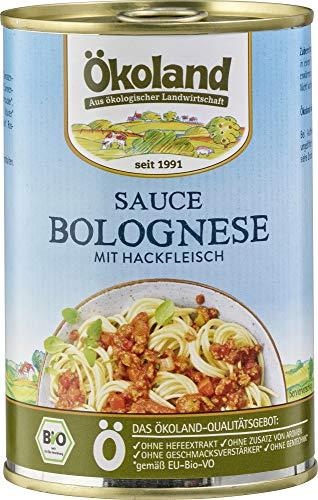 ÖKOLAND Bio Sauce Bolognese (6 x 400 gr)