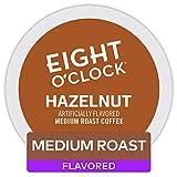 Eight O'Clock Coffee Hazelnut, Single-Serve Keurig K-Cup Pods, Flavored Medium Roast Coffee, 48 Count