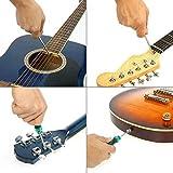 WXGY Set Gitarren-Zubehör, Ersatzwerkzeug, Pflege, Reparatur, Luthier Wartung Saiten-Werkzeug