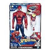 Spider-Man Titan Hero mit Quantum Power Pack, 30 cm große Actionfigur