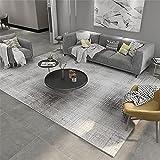 Kunsen alfombras Salon Diseño de patrón de Cuadros de Color Beige de Color Beige de café Ligero alfombras Salon Baratas Alfombra 180X250cm