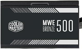Fonte Cooler Master MWE Bronze V2 500W (com cabo de força BR), 80 Plus Bronze