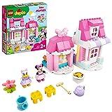 LEGO 10942 DUPLO Disney Casa y Cafetería de Minnie Mouse, con Cocina de Juguete para Construir para Niños y Niñas +2 Años