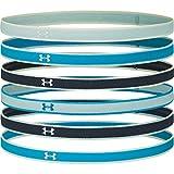 Under Armour UA Mini Headbands (6pk), Fascia Donna, Blu (Equator Blue/Mechanic Blue/Seaglass Blue (417), Taglia Unica