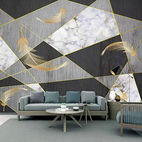 450x280cm HD Murals 3D Wallpaper Line Geometric Feather Custom Mural Non-Woven Wall Stickers Oil Painting Scenery Wall Paintings 3D Wall Mural Wallpaper Modern Art Decoration Print Poster