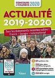 Actualité 2019-2020 - Concours et examens 2020 - Actu 2020 offerte en ligne -Tous les événements incontournables - France, Europe, international