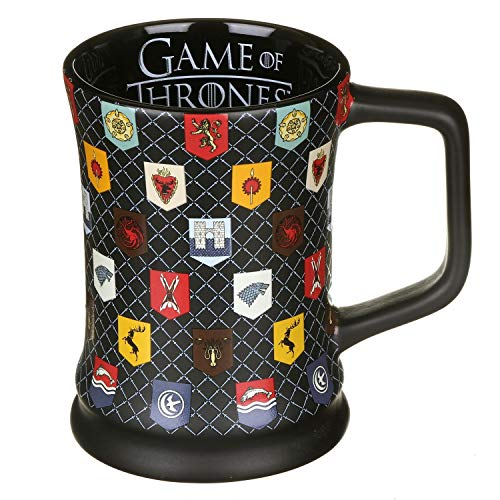 Game Of Thrones Jarro - Matt Glaze Sigils