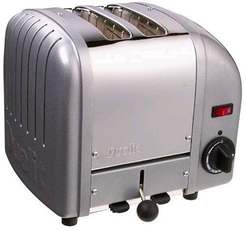 Dualit 2-Slot Classic Toaster - Metallic Silver