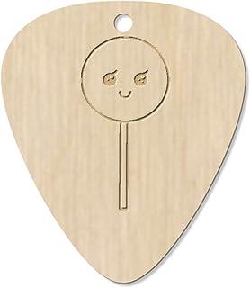 7 x 'Happy Lollipop' Guitar Picks / Pendants (GP00016231)