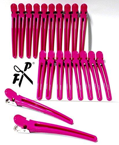 FP Kombi-Clips - Haarschneideklammern - 20 Stck. - pink