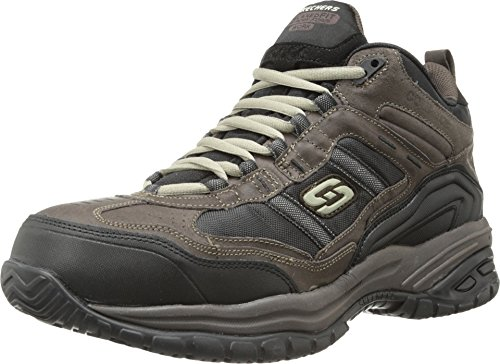 Skechers Men's Work Relaxed Fit Soft Stride Canopy Comp Toe...