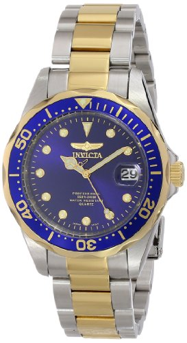 Invicta Men's 17050 Pro Diver Analog Display Japanese Quartz Two Tone Watch