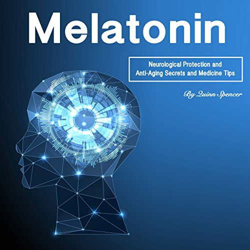 Melatonin audiobook cover art