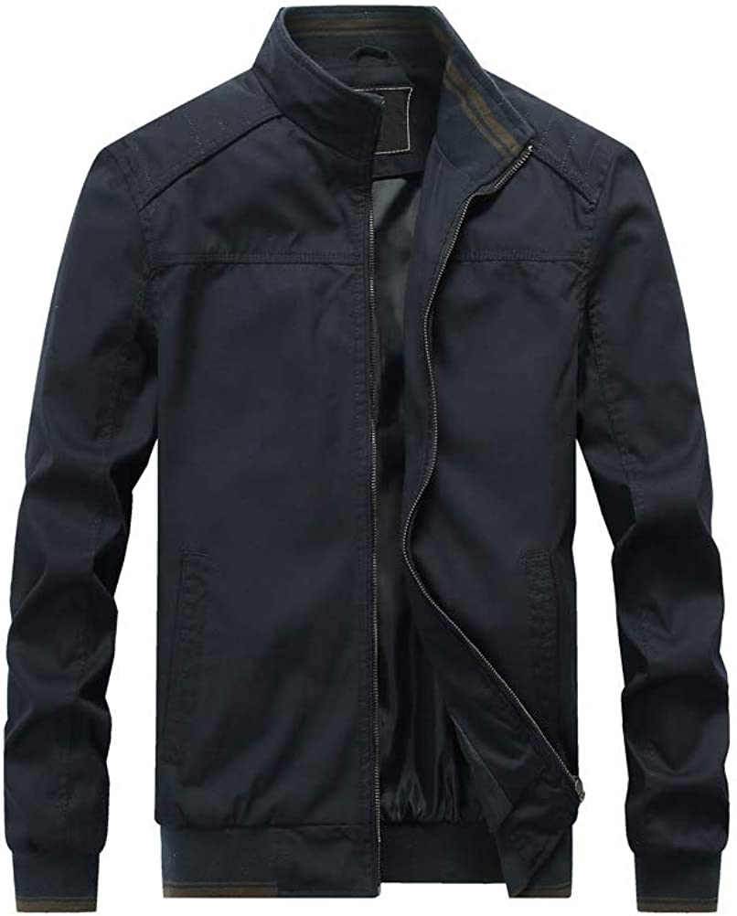 PASOK Men's Cotton Military Jackets Sta Outdoor Coat Chicago Mesa Mall Mall Lightweight