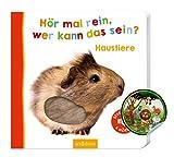 Premiers livres en carton pour écouter et étonner avec des sons Découvrir de manière ludique : des livres amusants avec des clapets, des effets de jeu et des sons sont amusants, encouragent le développement linguistique et la créativité et peuvent dé...
