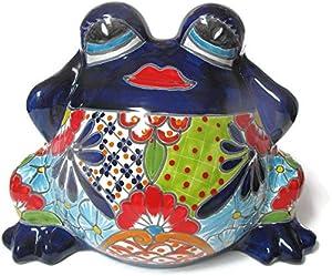 Talavera Sexy Frog Planter Medium (Puebla)