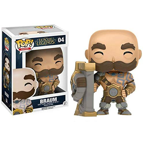 Funko Pop Games : LOL - Braum 3.75inch Vinyl Gift for Game Fans SuperCollection