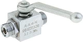 Válvula de Bola de Palanca Hidráulica de Gas de 2 Vías - DN8 0.25 pulgada