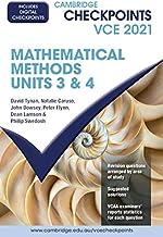 Cambridge Checkpoints VCE Mathematical Methods Units 3&4 2021