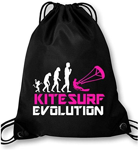 EZYshirt® Kitesurf Evolution Turnbeutel