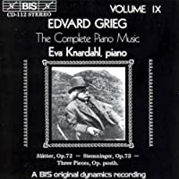 V 9: Complete Piano Music by EDVARD GRIEG (1994-09-22)