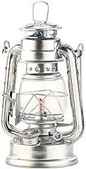 Lampa benzynowa Lunartec Lampa burzowa Nafta ze szklanym tłokiem, ocynkowana, 18,5 cm (lampy naftowe)