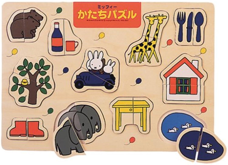 Miffy shape puzzle step 3 (japan import)