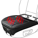 Big Ant Heated Car Seat Cushion, Edge Wrapping Car Front Seat Cover