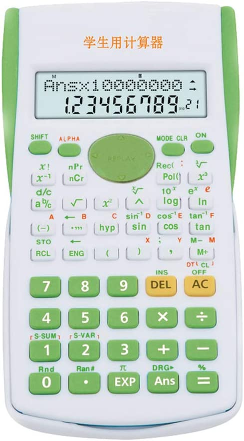 Scientific Calculator Student with 4 years warranty Cute Popular brand in the world Candy B Color