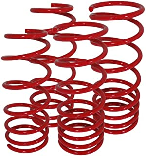 For Honda Prelude S Si Type-Sh Bb2-Bb6 Suspension Racing Coil Drop Lower Lowering Sport Spring Kit Red