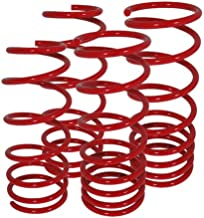 Volkswagen Golf Gti Jetta Mk4 Suspension Racing Coil Drop Lower Lowering Sport Spring Kit Red