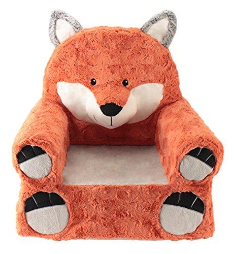 Animal Adventure   Sweet Seats   Fox Children's Plush Chair