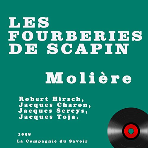 Les fourberies de Scapin cover art