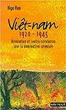 Viet Nam, 1920-1945