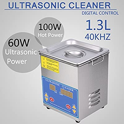 Belovedkai Large Commercial Ultrasonic Cleaner With Heater And Digital Control for Jewelry Watch Glasses Cleaner