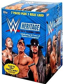 TOPPS COMPANY 2015 Topps WWE Heritage Value Box