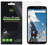 [6-Pack] Dmax Armor for Motorola Google Nexus 6 Anti-Glare & Anti-Fingerprint (Matte) Screen Protector